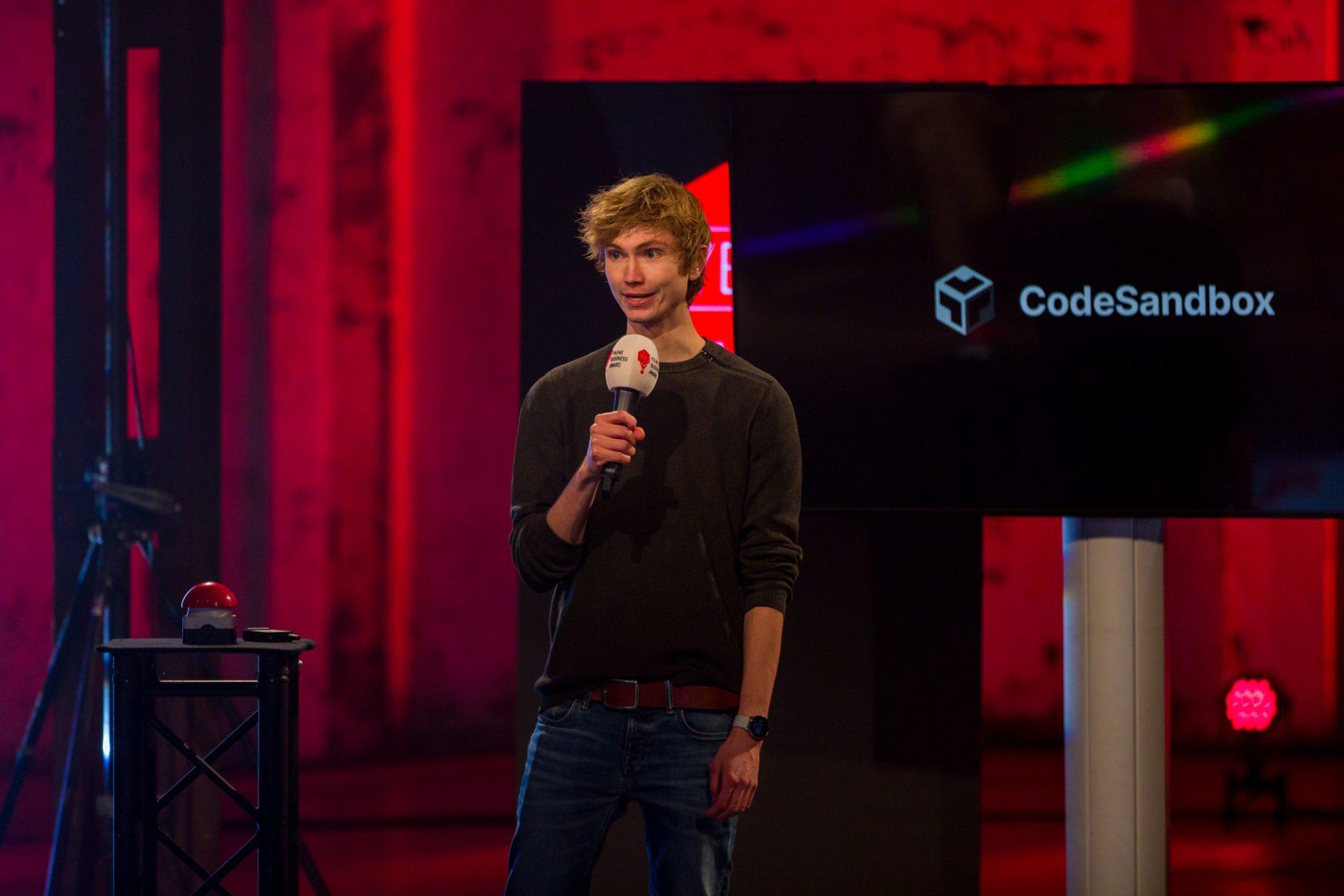 Bas Buursma founder Codesandbox