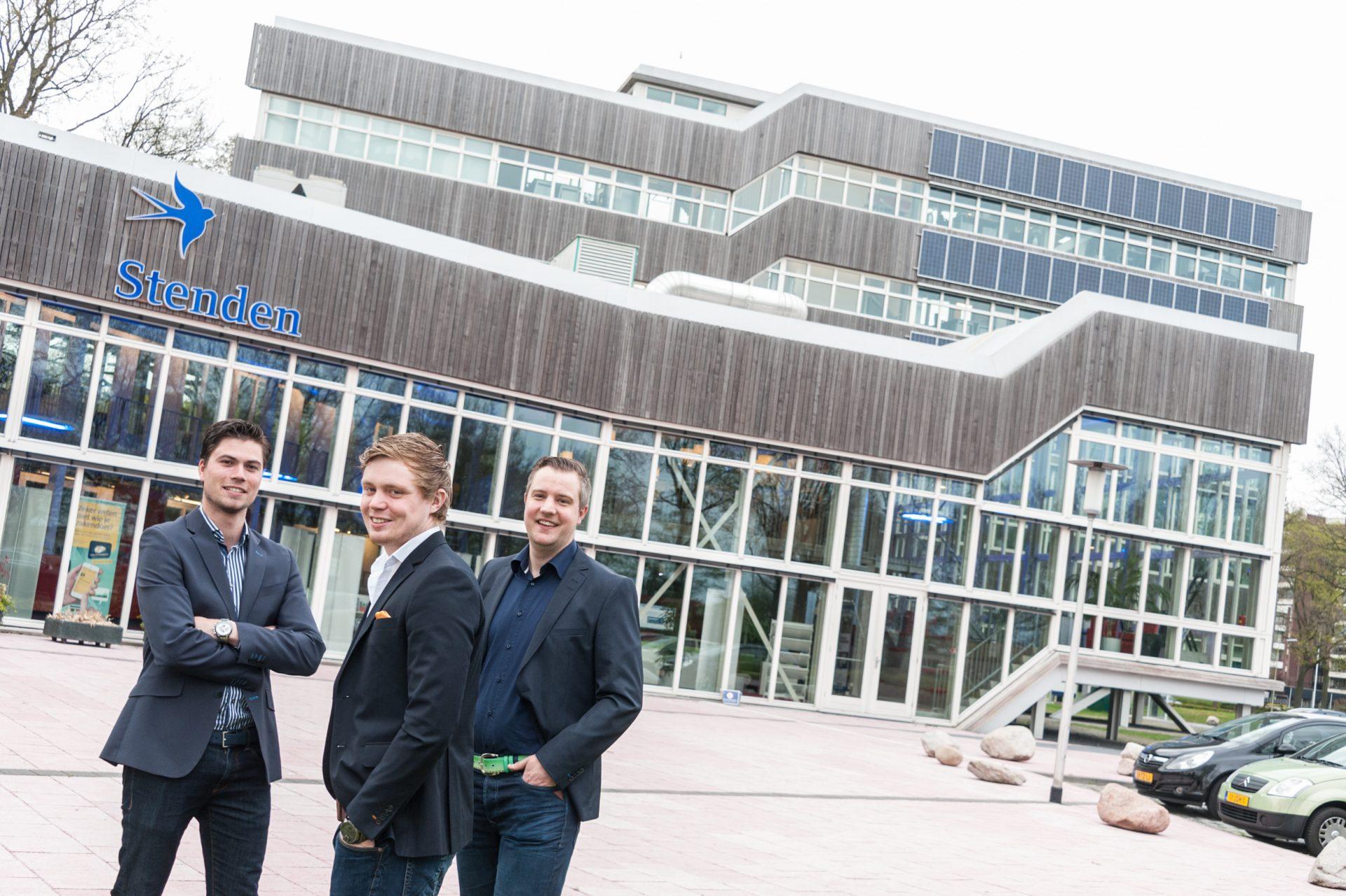 YBA oprichters Stef Brandsema, Niels Palmers en Roy Rocks.
