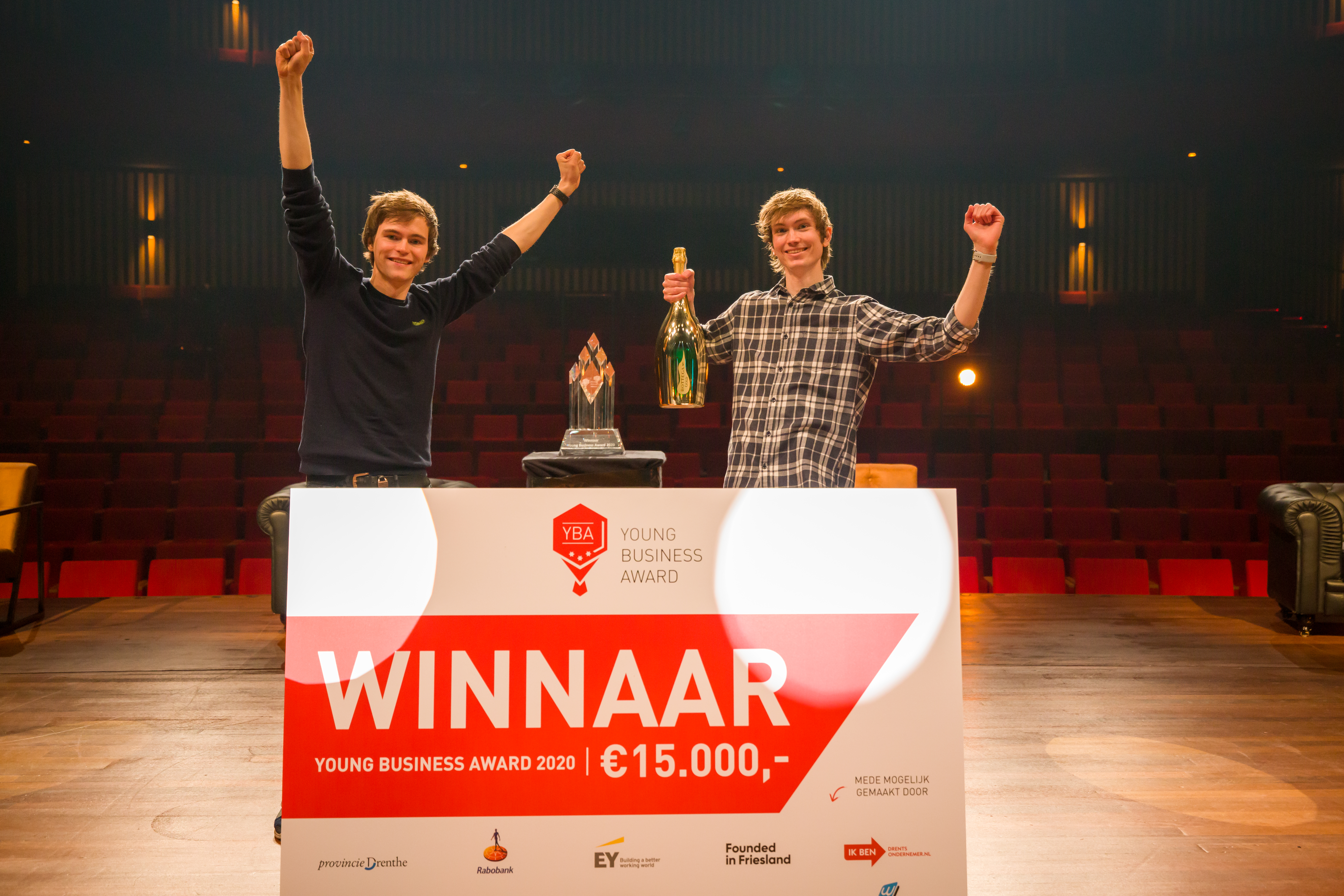 CodeSandbox winnaar Young business Award